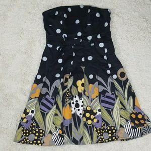 Like new Kay Unger New York strapless dress sz 8